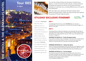 Itinerary 005 - Atholl and Gleneagles Hotel1. IMAGEN LÍMITE