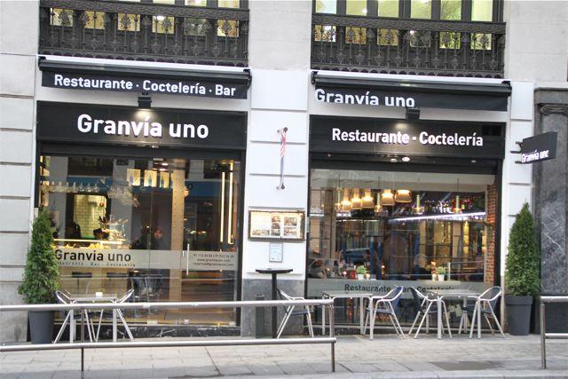 RESTAURANTE GRANVÍA UNO DE MADRID