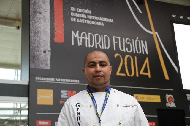 Chef Youssef Zairi. Madrid Fusión 2014. Imagen Límite