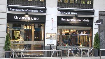 RESTAURANTE GRANVÍA UNO DE MADRID. IMAGEN LÍMITE