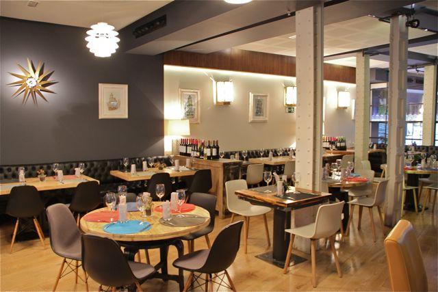 Restaurante Granvía uno en Madrid. Imagen Límite