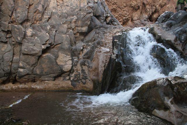 catarata ruta cactus. Imagen Límite