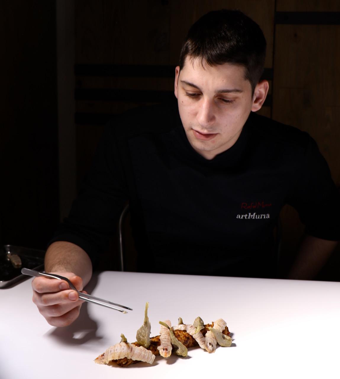 El Chef Rafel Muria, nuevo menú de temporada