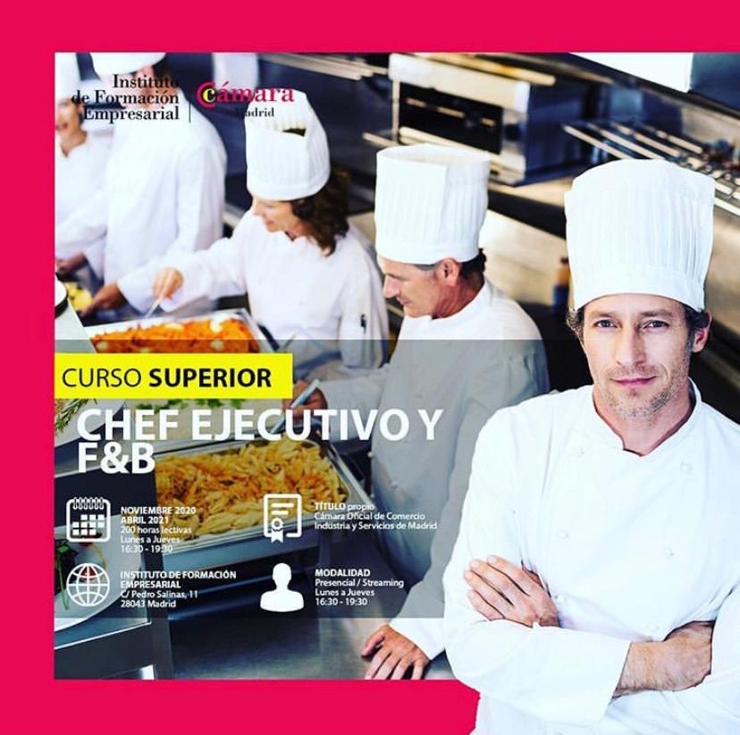 Curso Superior Chef Ejecutivo y F&B