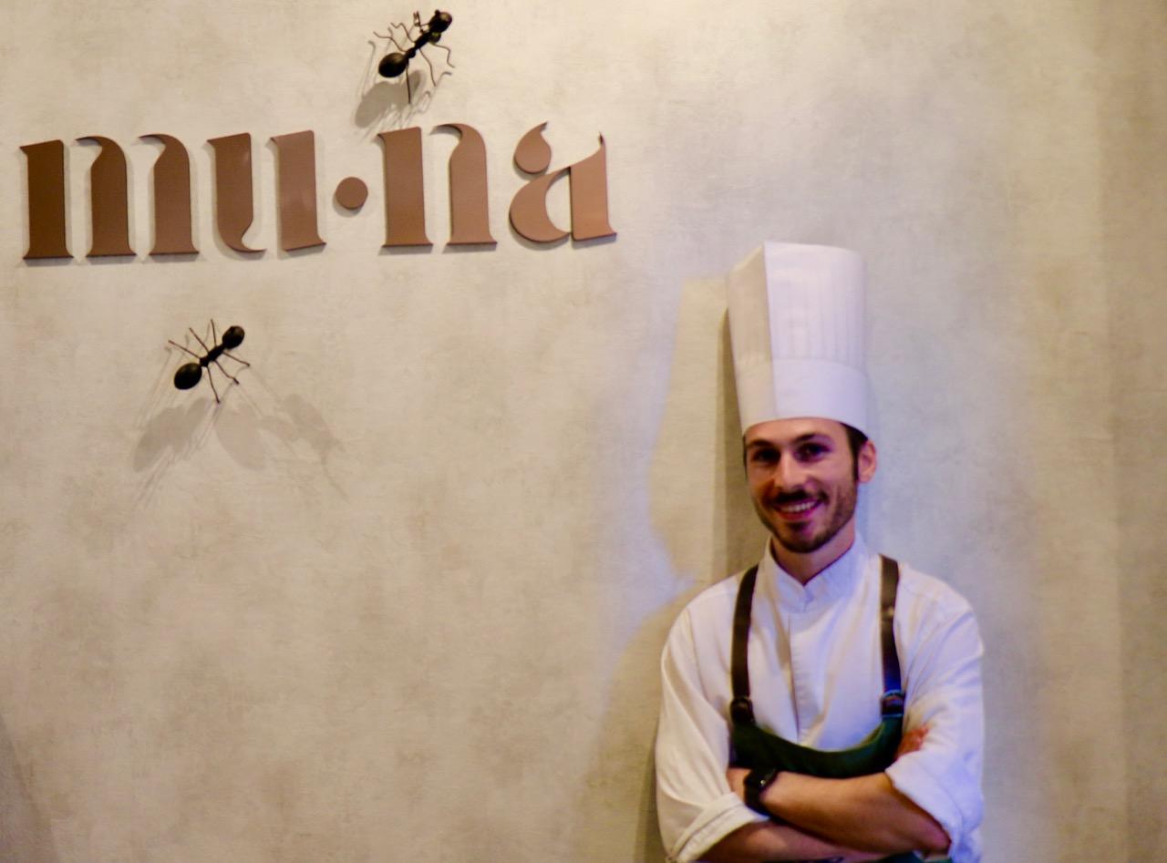 Restaurante MU.NA, Chef Samuel Naveira, nuevo estrella Michelin