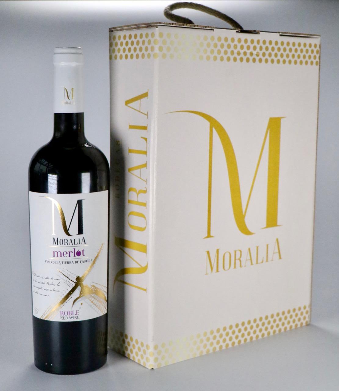 Moralia Merlot. Nueva imagen.